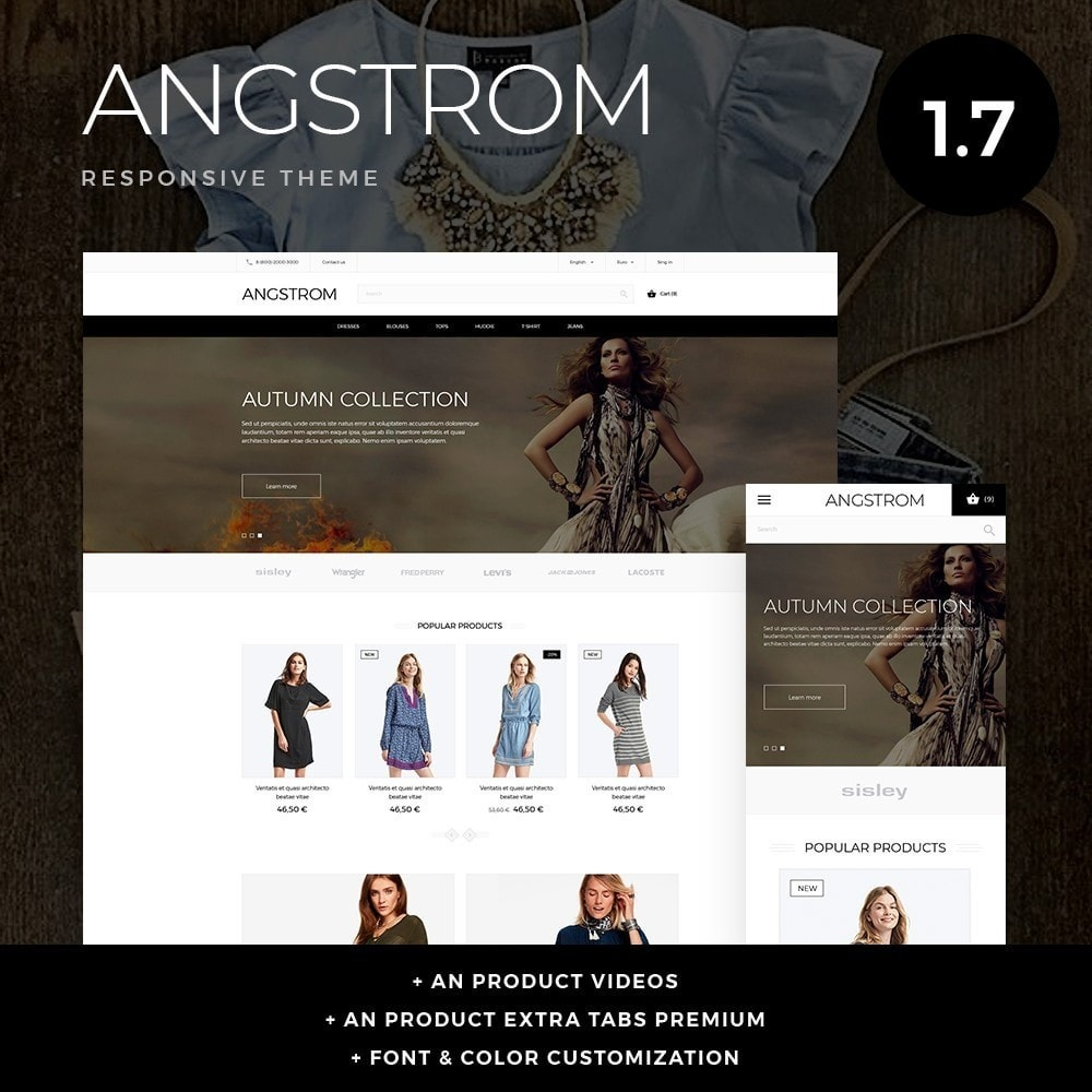 theme - Mode & Chaussures - Angstrom Fashion Store - 1