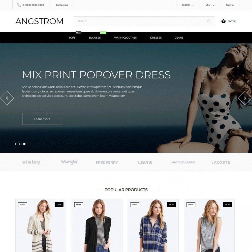 theme - Mode & Chaussures - Angstrom Fashion Store - 2