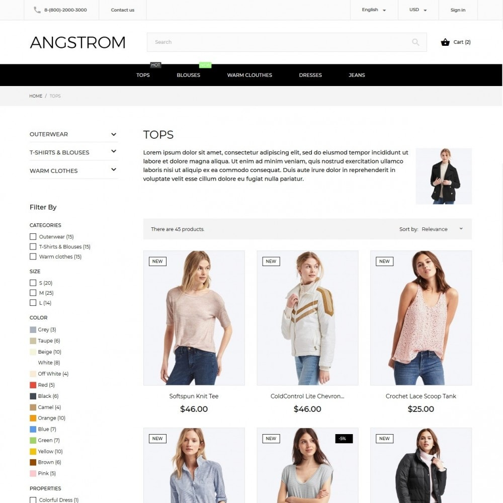 theme - Mode & Chaussures - Angstrom Fashion Store - 6