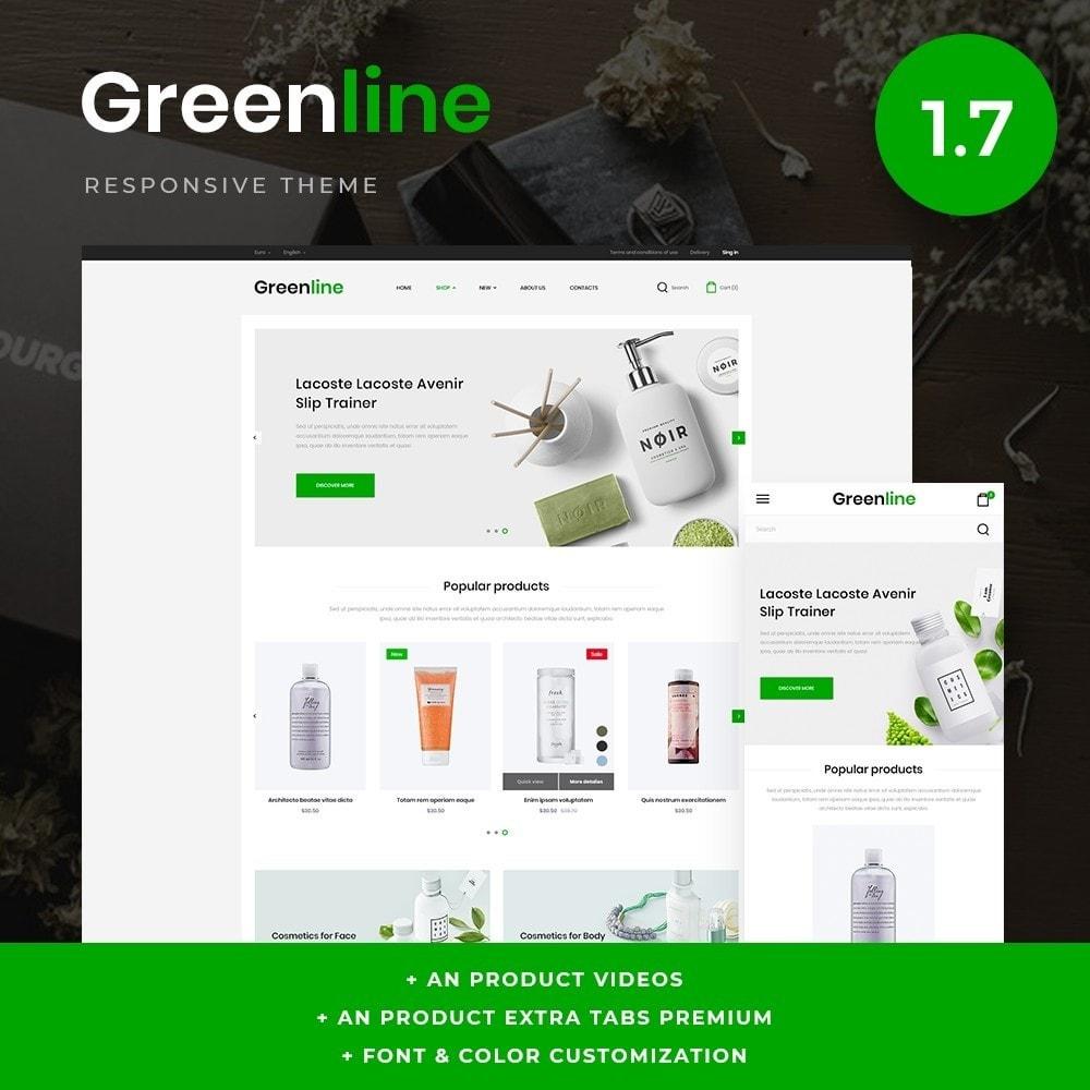 theme - Zdrowie & Uroda - Greenline Cosmetics - 1