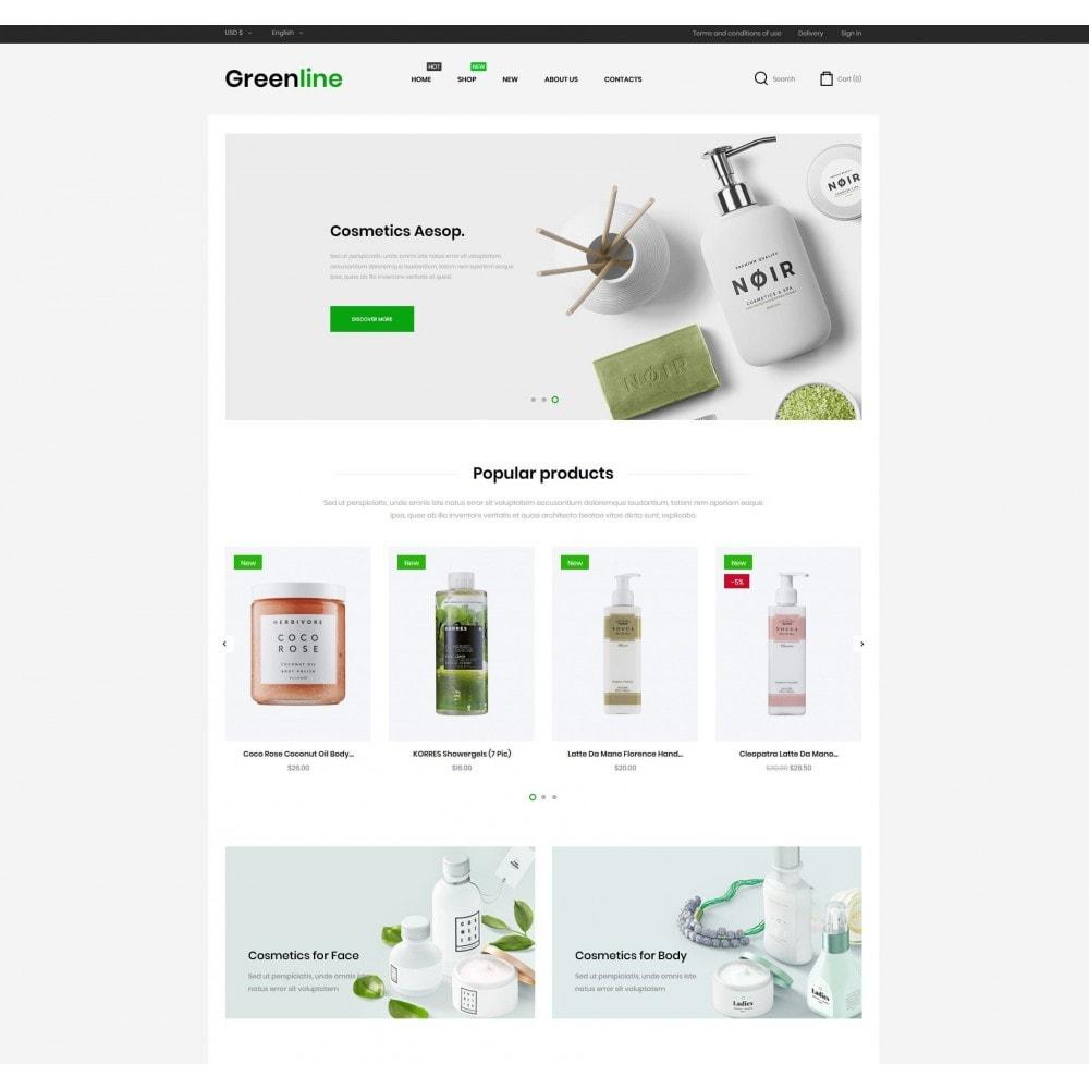 theme - Zdrowie & Uroda - Greenline Cosmetics - 2