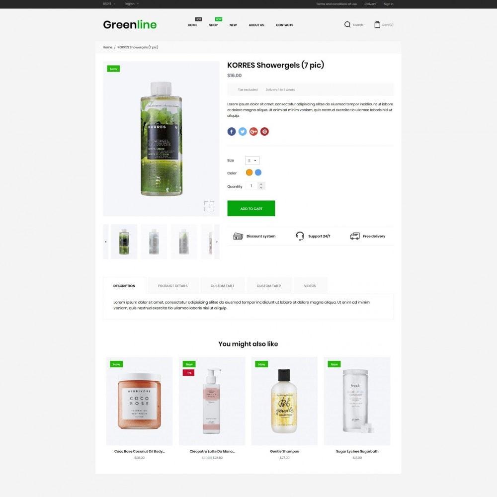 theme - Zdrowie & Uroda - Greenline Cosmetics - 6