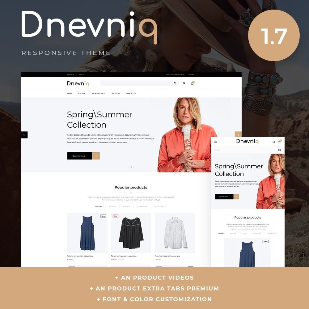 theme - Fashion & Shoes - Dnevniq Fashion Store - 1