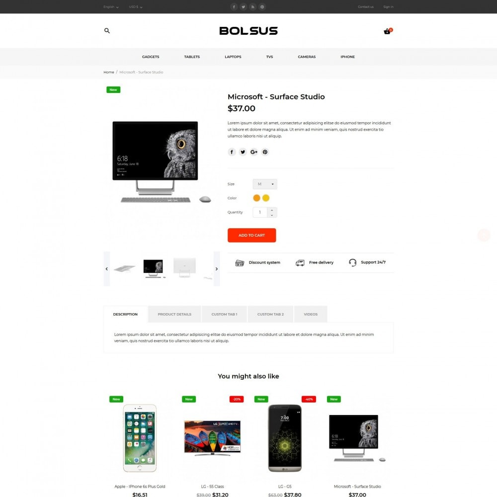 theme - Elektronica & High Tech - Bolsus - High-tech Shop - 7