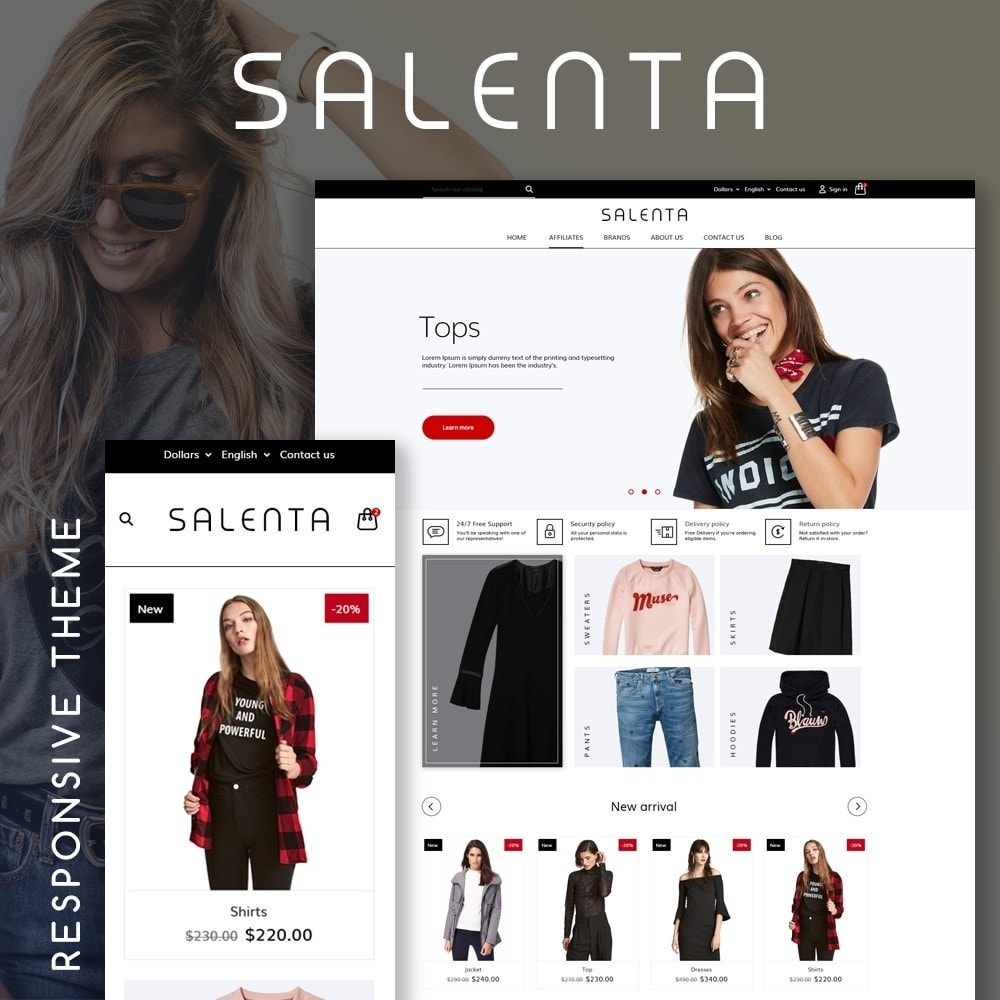 theme - Moda & Calçados - Salenta Fashion Store - 1