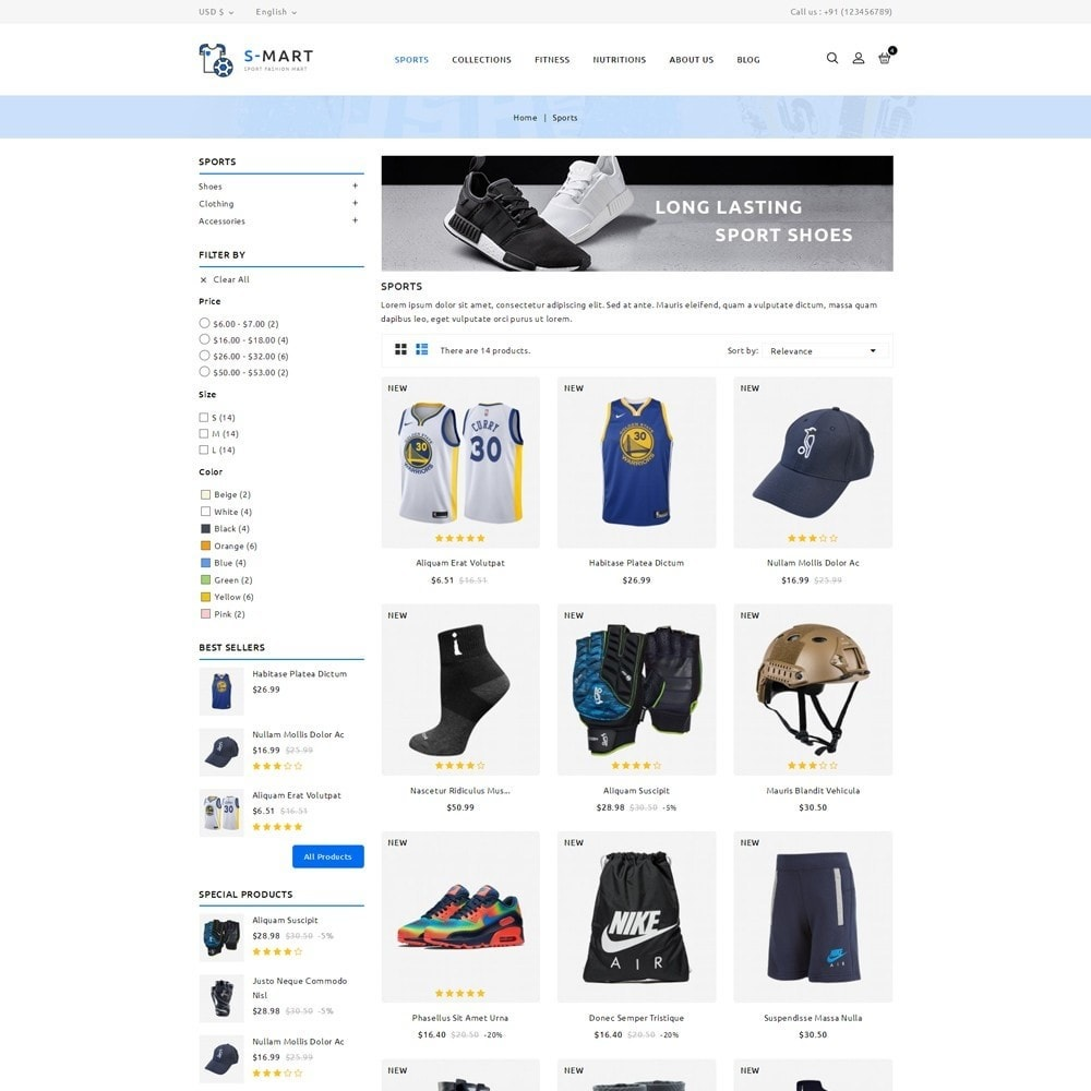 theme - Mode & Schuhe - Shop Mart Sports Fashion - 3