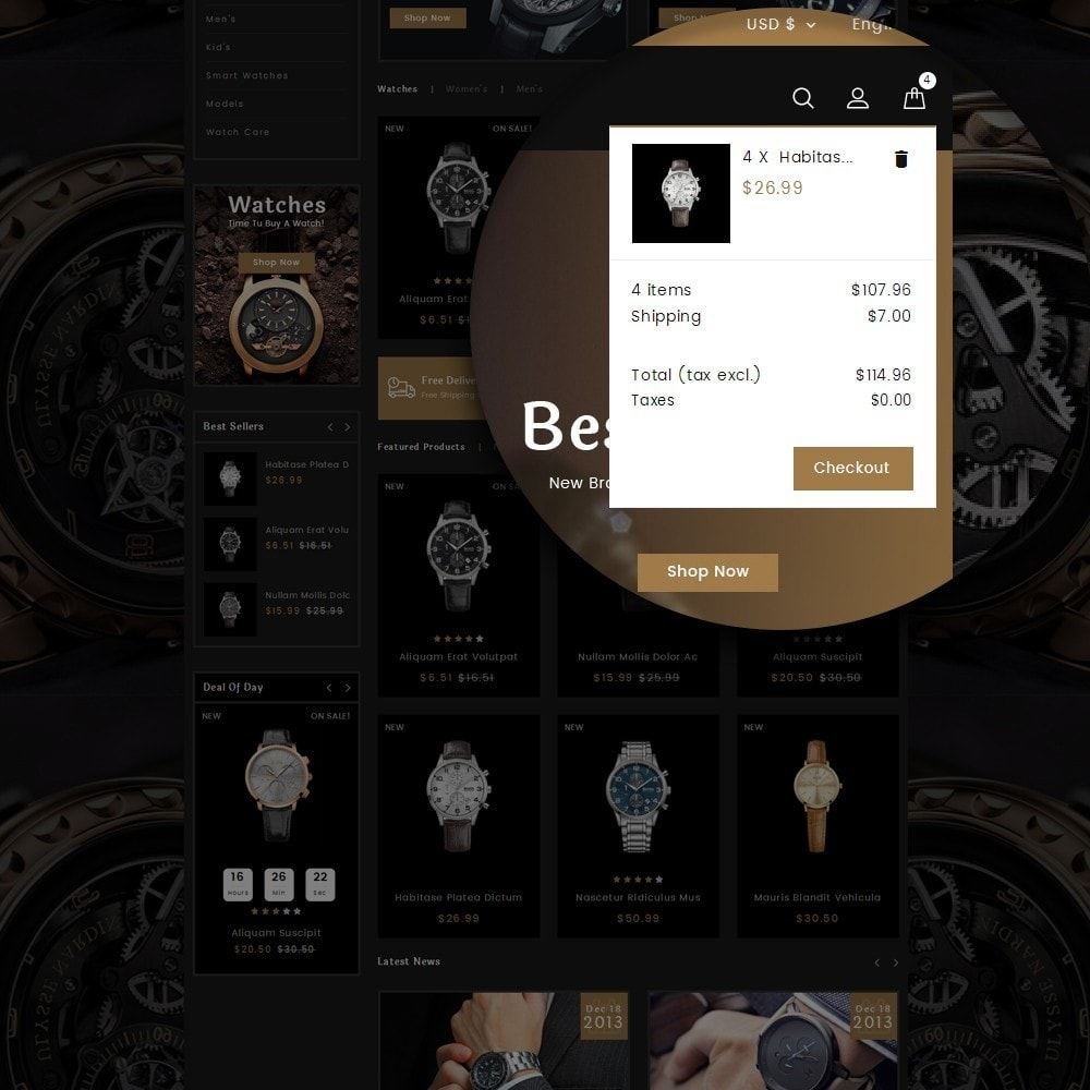 theme - Biżuteria & Akcesoria - Happy Hour Watch Store - 9