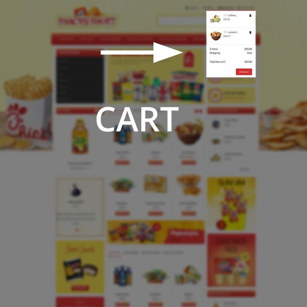 theme - Lebensmittel & Restaurants - Snacksshort Food Store - 7