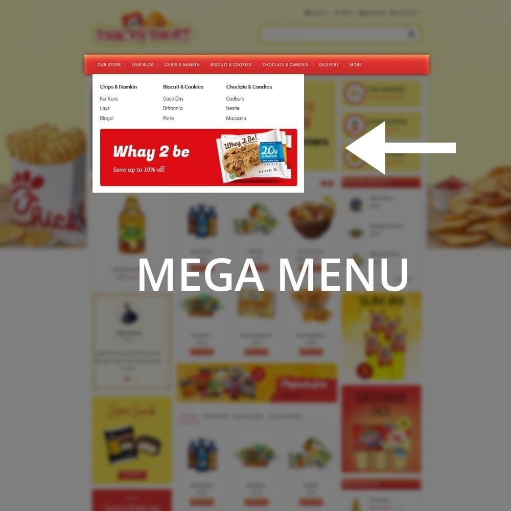 theme - Lebensmittel & Restaurants - Snacksshort Food Store - 8