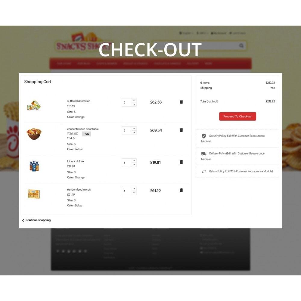 theme - Żywność & Restauracje - Snacksshort Food Store - 10