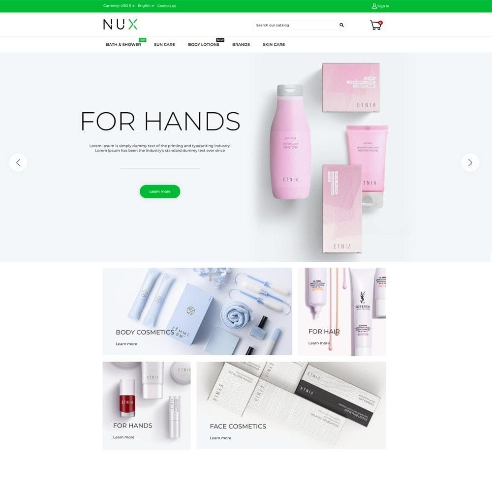 theme - Здоровье и красота - Nux Cosmetics - 2