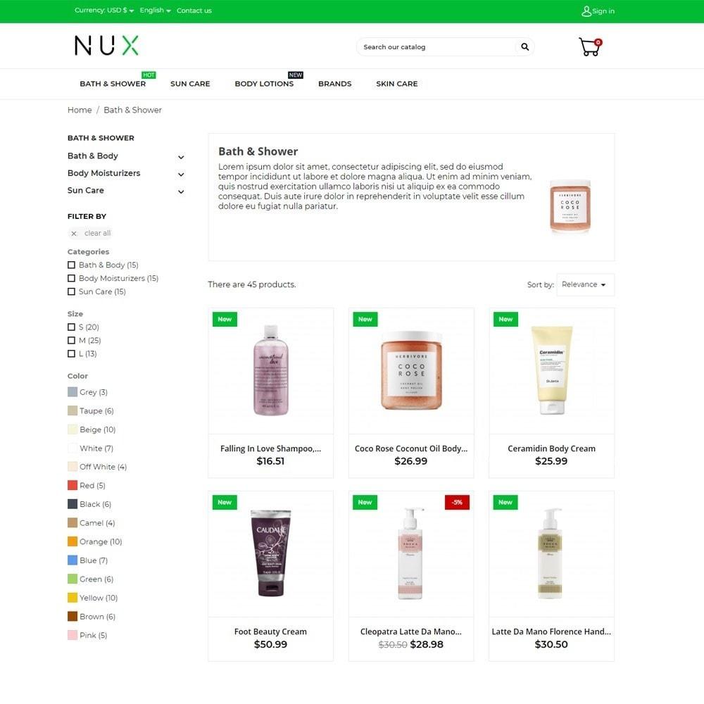 theme - Здоровье и красота - Nux Cosmetics - 6
