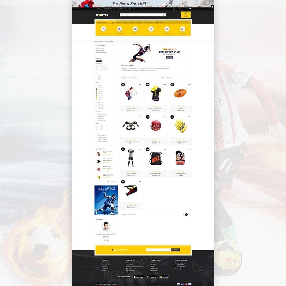 theme - Sports, Activities & Travel - SportyGo– Sport Super Store - 3