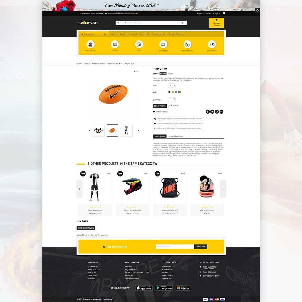 theme - Sports, Activities & Travel - SportyGo– Sport Super Store - 4