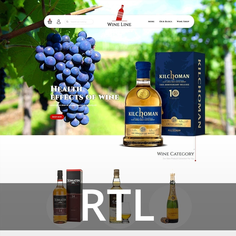 theme - Drink & Wine - Wineline - Alcohol Shop - 3