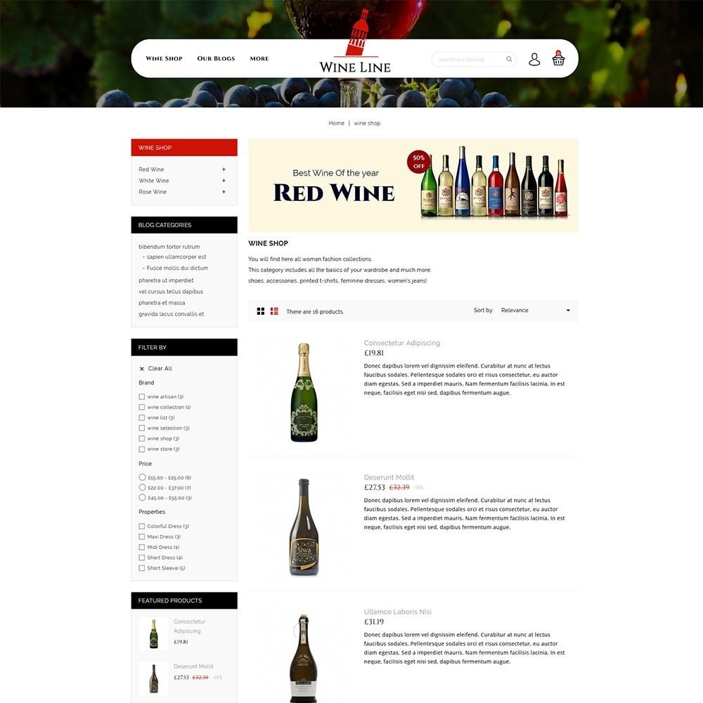 theme - Drink & Tobacco - Wineline - Alcohol Shop - 5