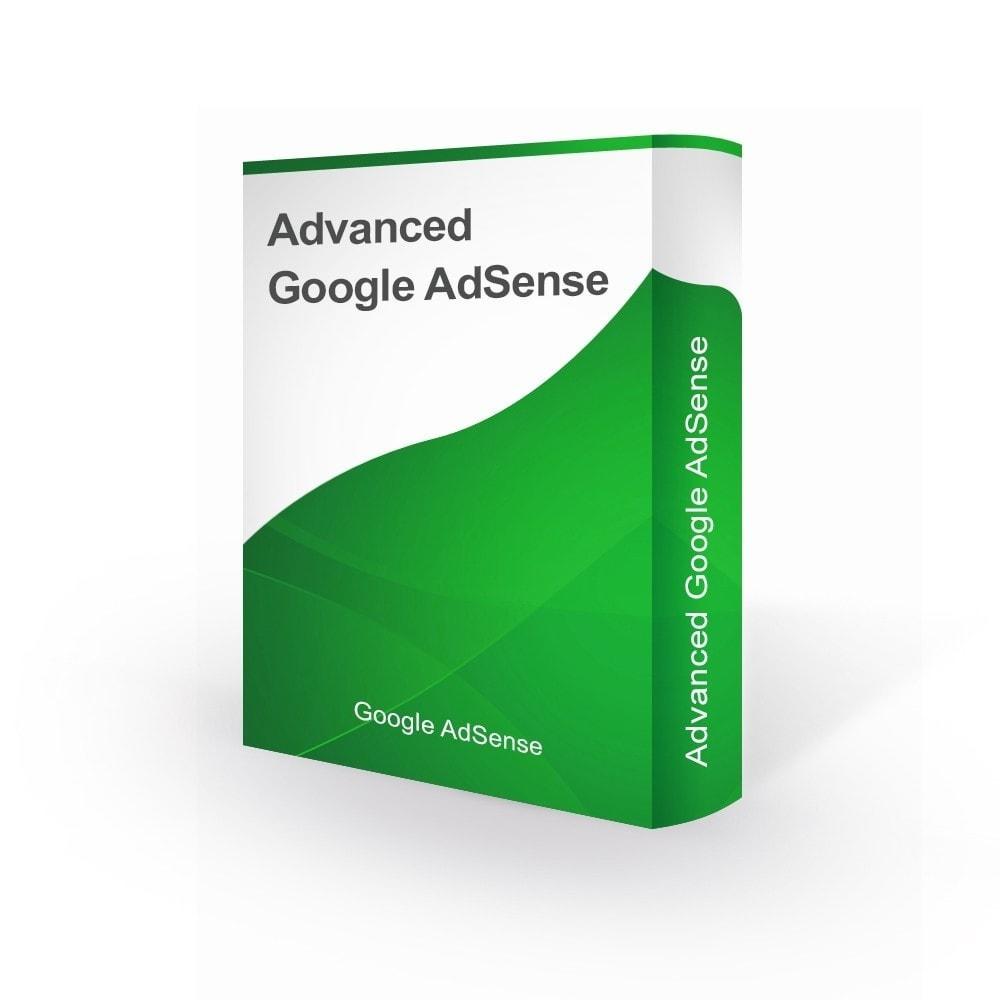 module - Analytics & Statistics - Integration Google AdSense - 1