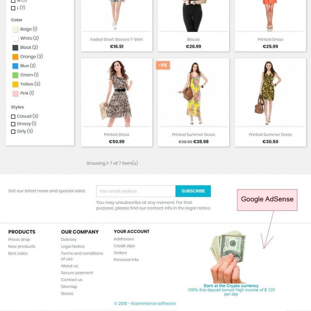 module - Analytics & Statistics - Integration Google AdSense - 3