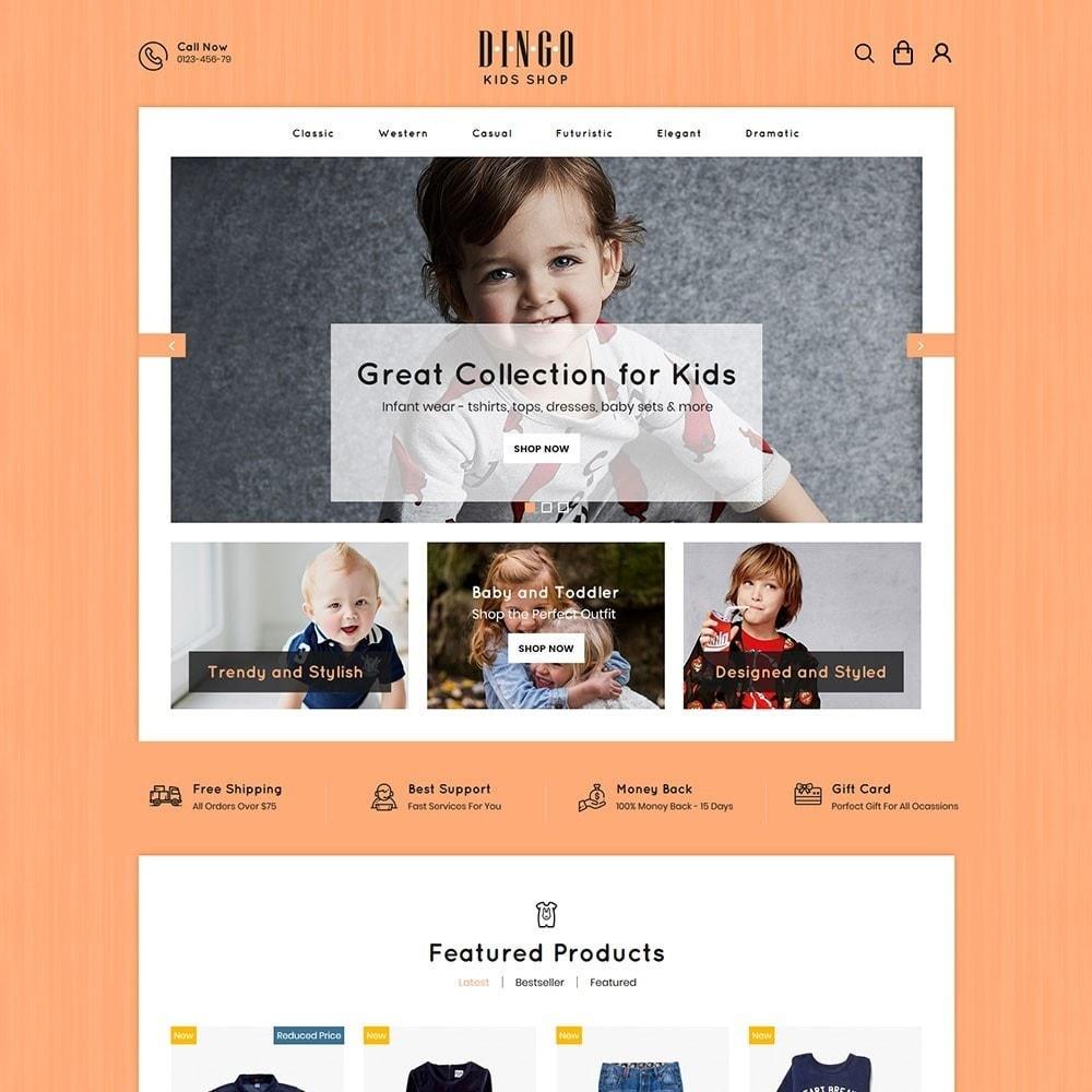 theme - Дети и Игрушки - Dingo - Kidswear Online Store - 2