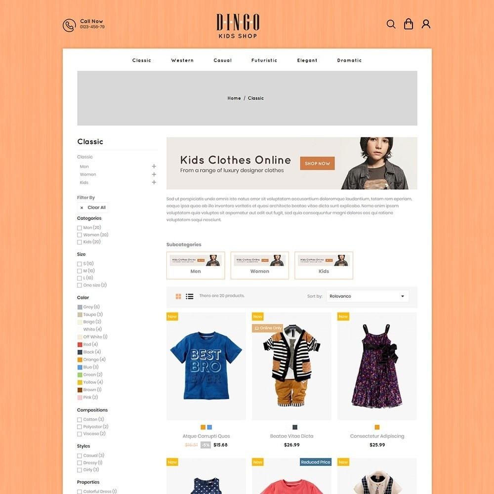 theme - Дети и Игрушки - Dingo - Kidswear Online Store - 3