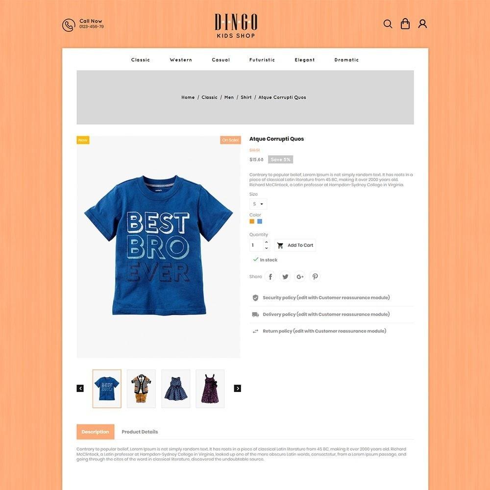 theme - Дети и Игрушки - Dingo - Kidswear Online Store - 5