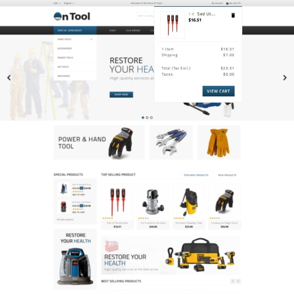 theme - Coches y Motos - OnTool Store - 8