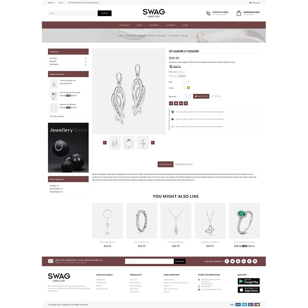theme - Jewelry & Accessories - SWAG Jewellery Store - 5
