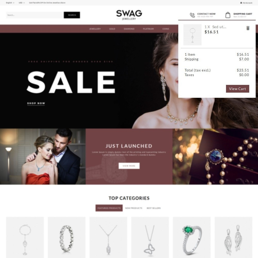 theme - Jewelry & Accessories - SWAG Jewellery Store - 8