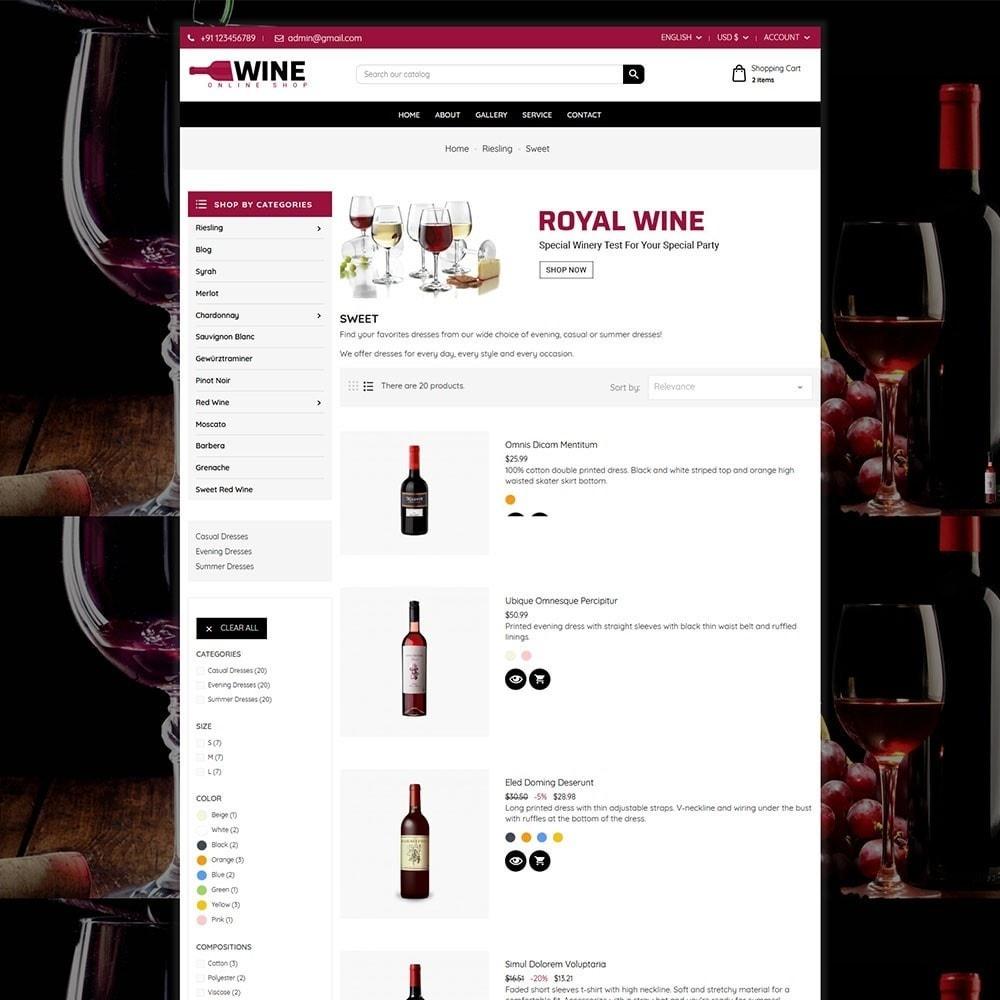theme - Drink & Tobacco - Wine Store - 5