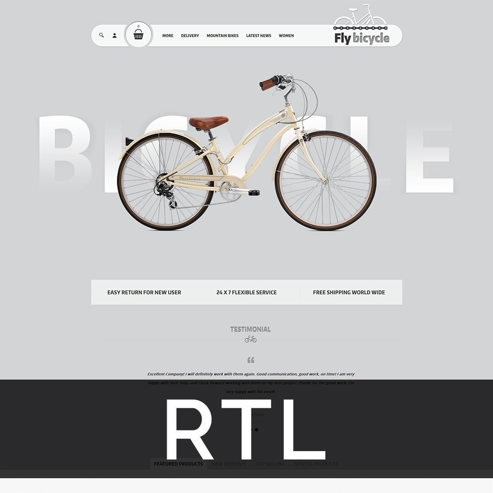 theme - Auto & Moto - Flybicycle Store - 3