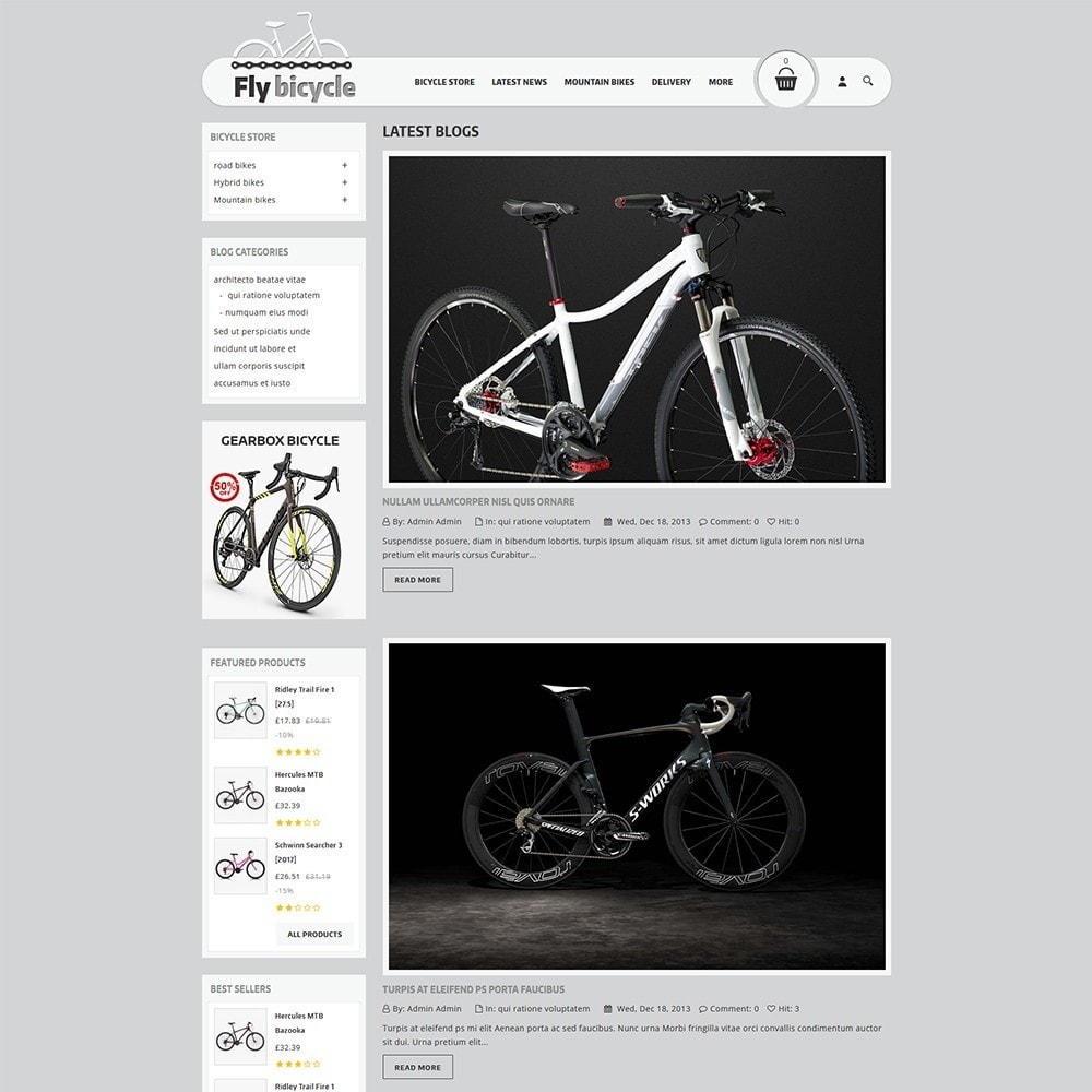 theme - Auto & Moto - Flybicycle Store - 7