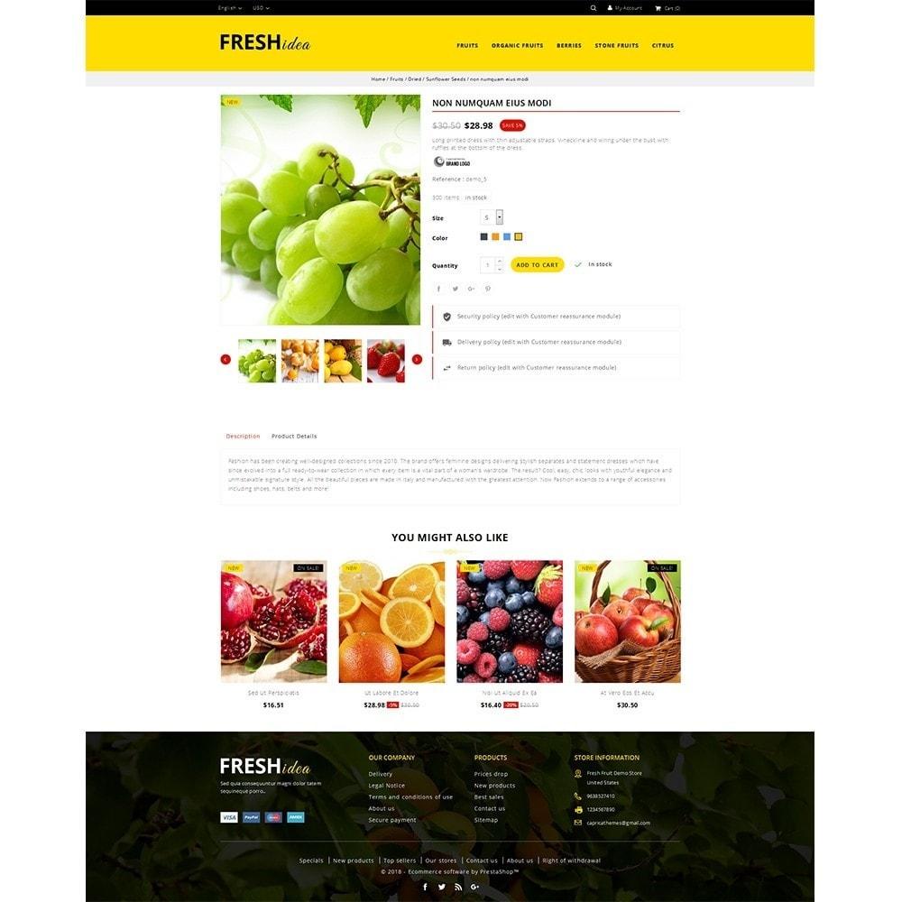 theme - Food & Restaurant - Fresh Fruit Store - 5