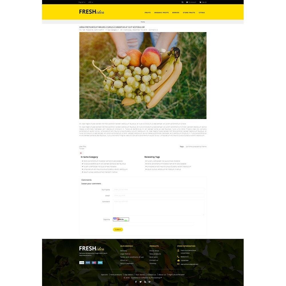 theme - Alimentos & Restaurantes - Fresh Fruit Store - 6