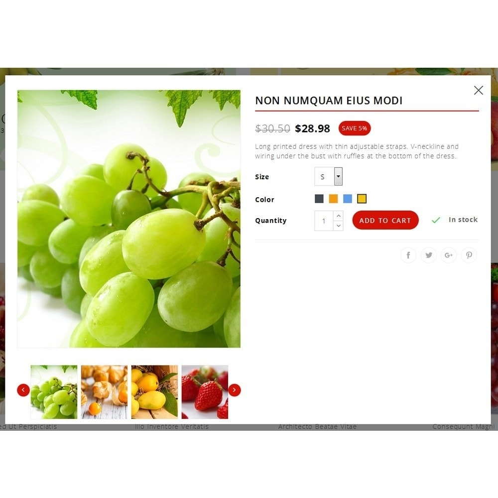 theme - Alimentos & Restaurantes - Fresh Fruit Store - 7
