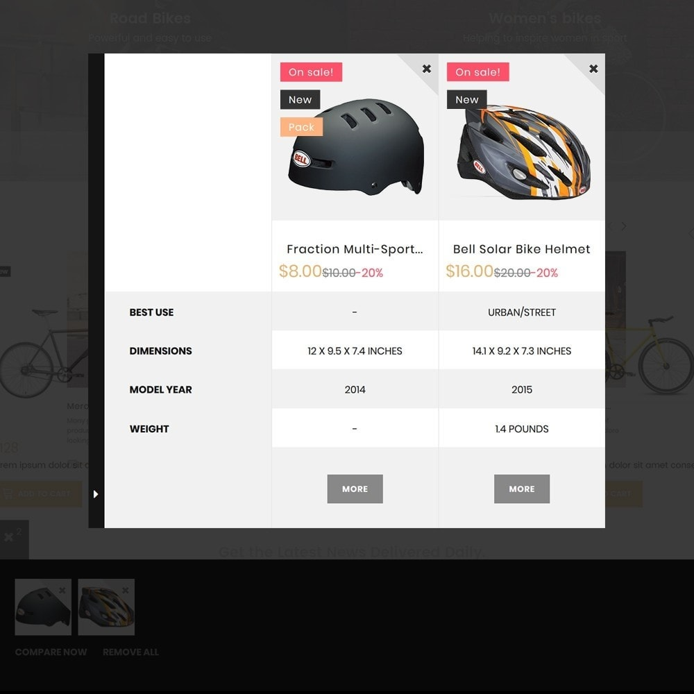 theme - Sports, Activities & Travel - BikeRond - Bike Shop - 3