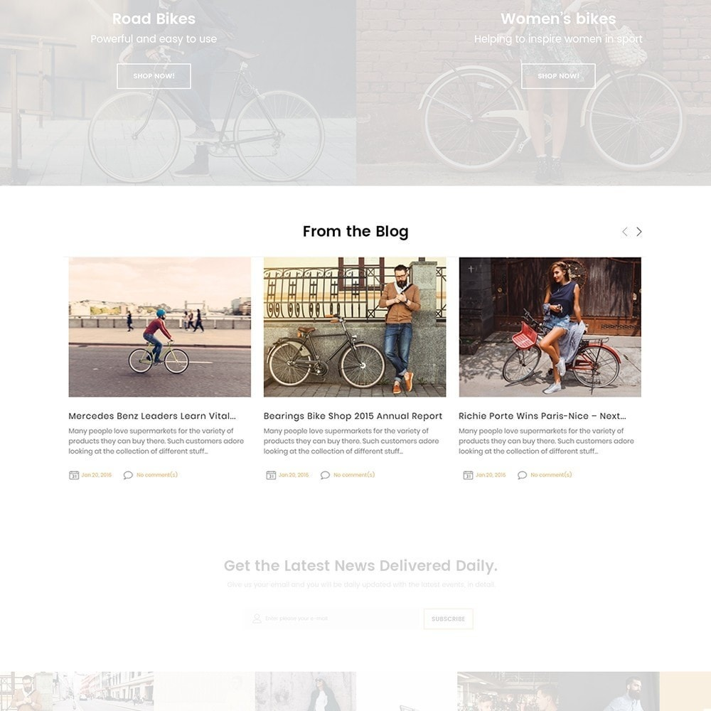 theme - Sports, Activities & Travel - BikeRond - Bike Shop - 4
