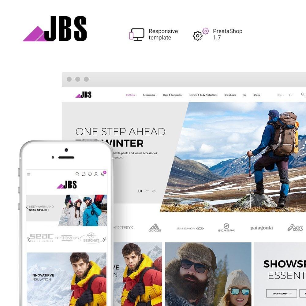theme - Desporto, Actividades & Viagens - JBS - Winter Sports Equipment - 1