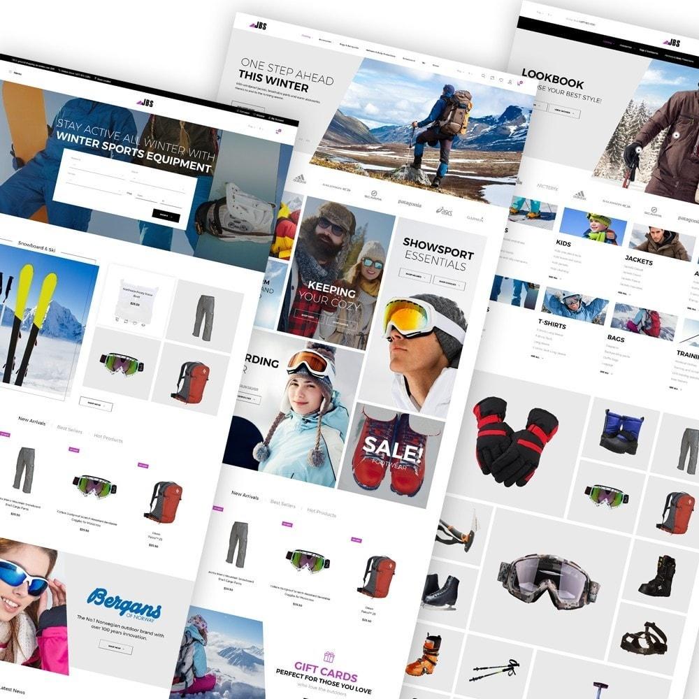 theme - Desporto, Actividades & Viagens - JBS - Winter Sports Equipment - 2