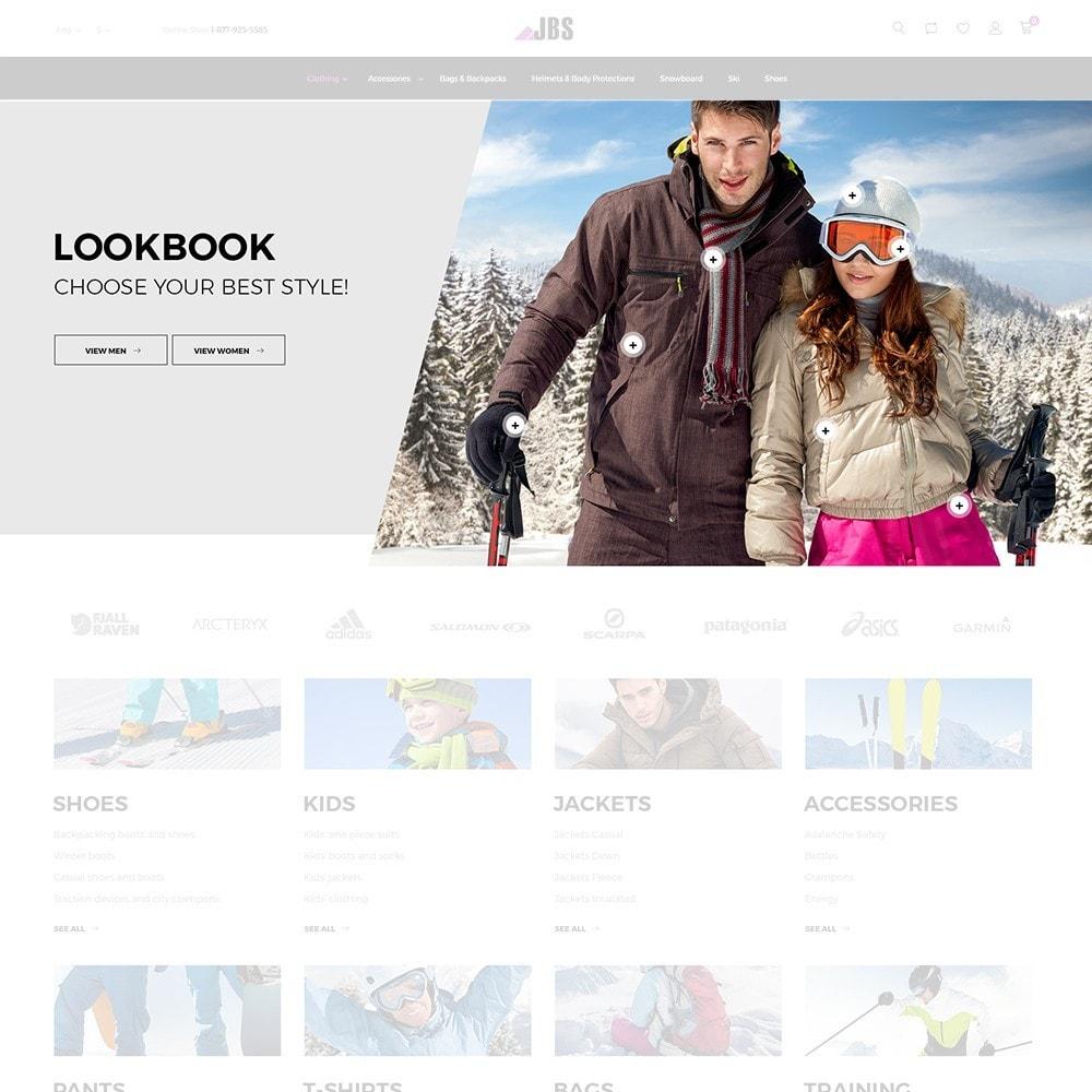 theme - Desporto, Actividades & Viagens - JBS - Winter Sports Equipment - 4