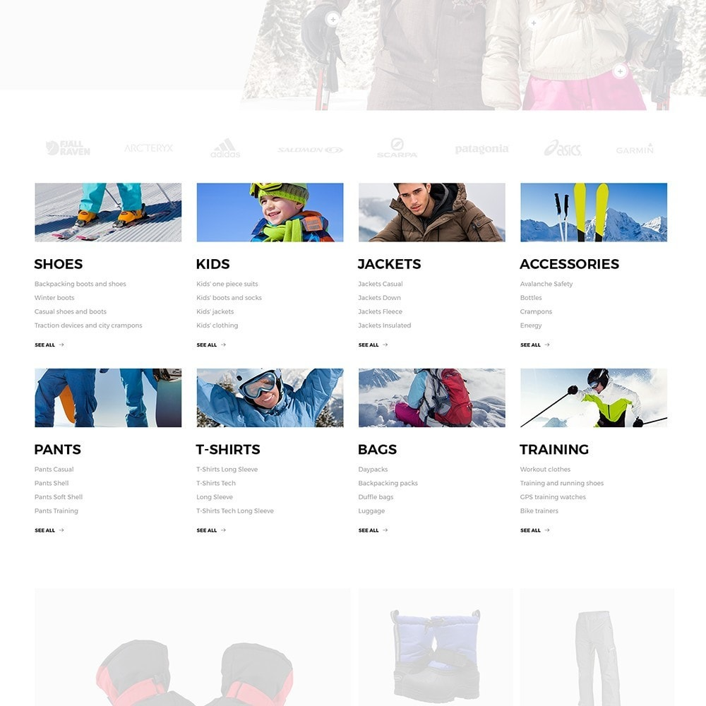 theme - Desporto, Actividades & Viagens - JBS - Winter Sports Equipment - 5