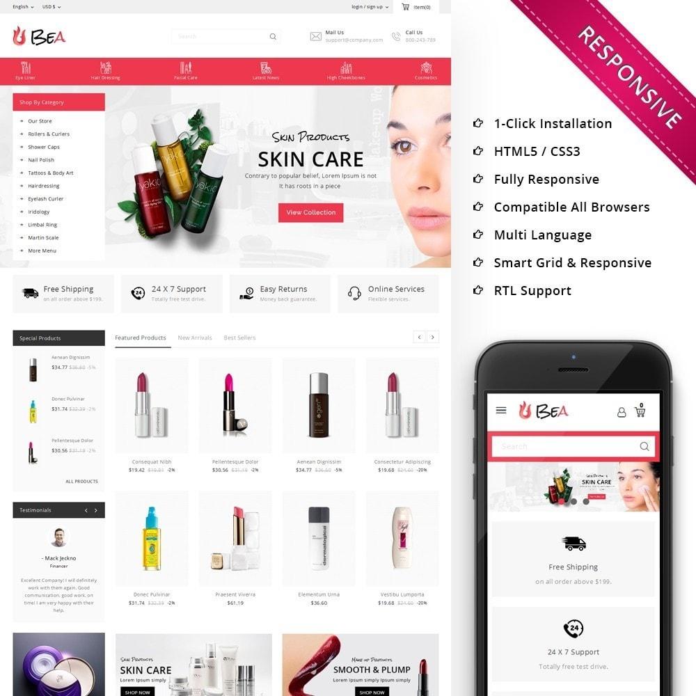 theme - Zdrowie & Uroda - Beashop Beauty Store - 1