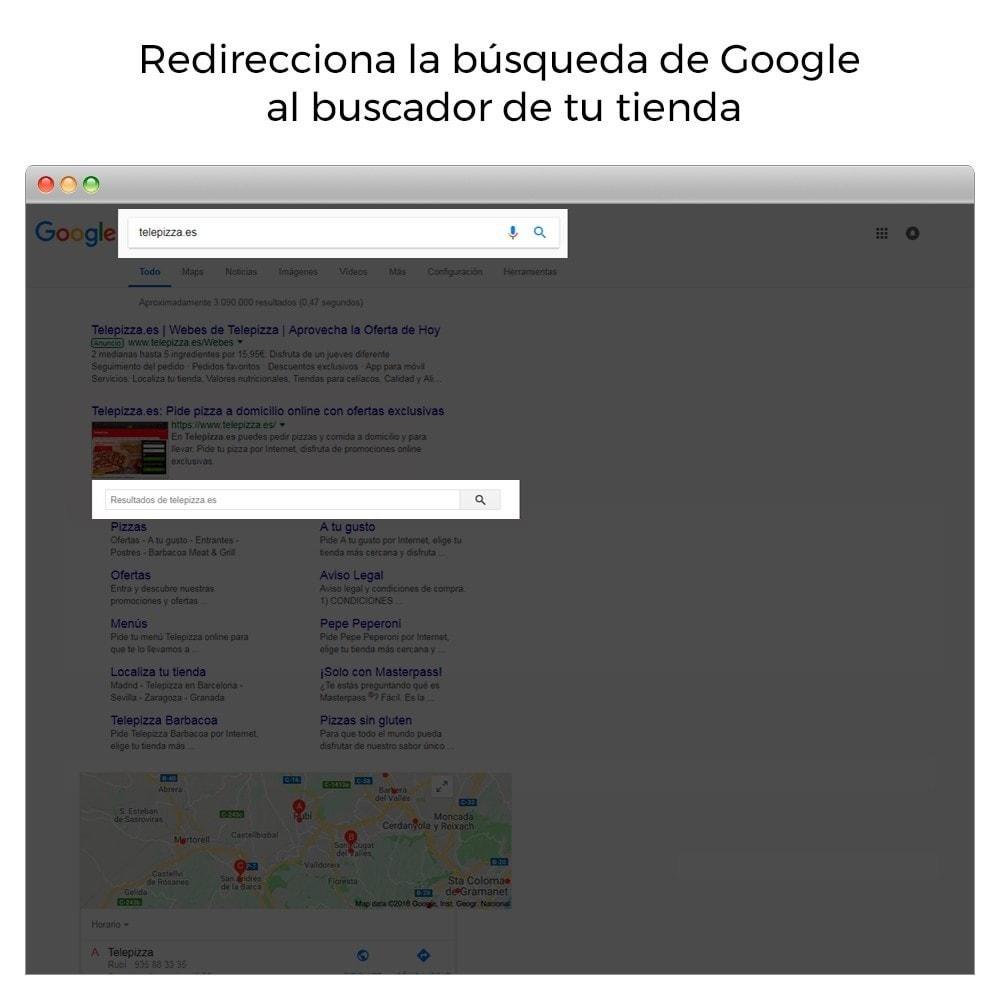 module - SEO (Posicionamiento en buscadores) - Google Sitelink Searchbox - 2