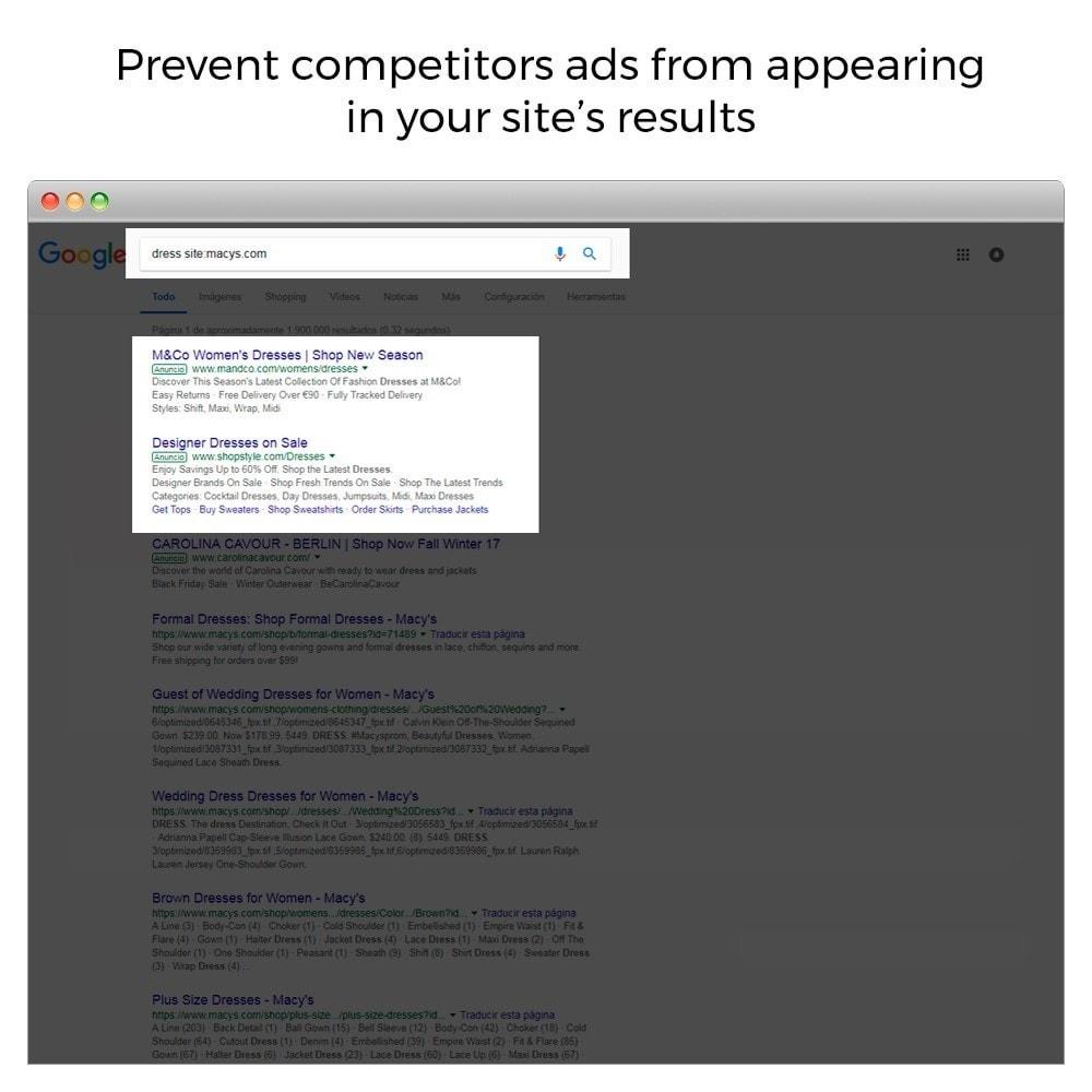 module - Естественная поисковая оптимизация - Google Sitelink Searchbox - 3
