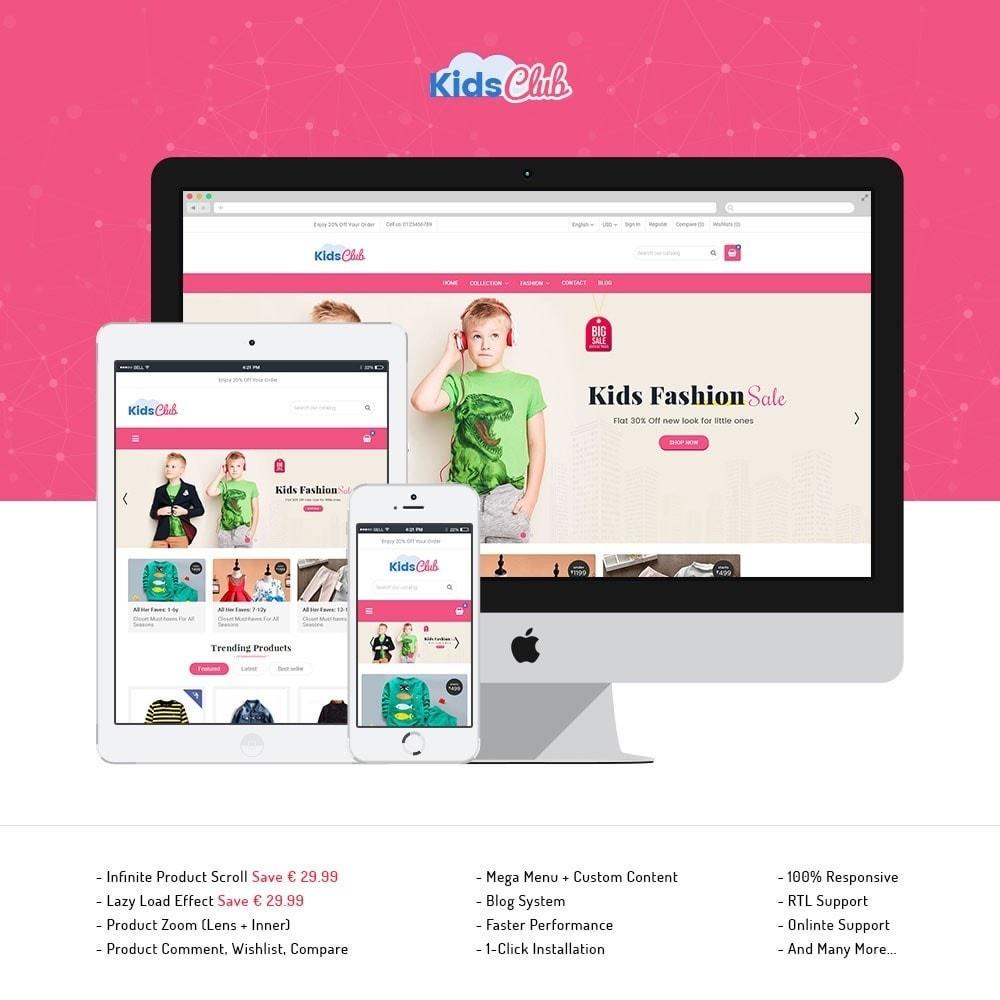 theme - Moda & Obuwie - Kids Club Fashion Store - 1
