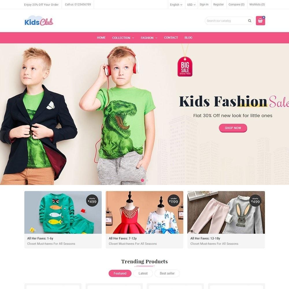 theme - Moda & Obuwie - Kids Club Fashion Store - 2