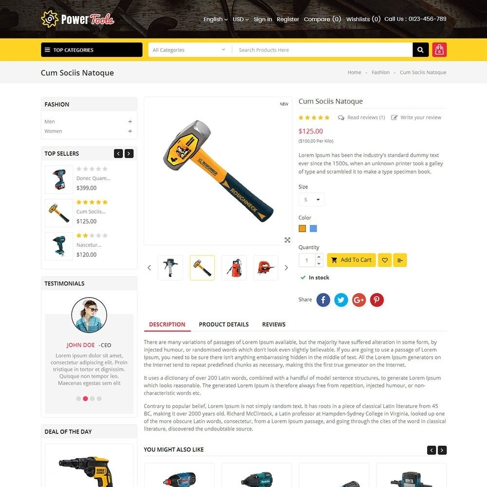theme - Heim & Garten - Power Tools Store - 5
