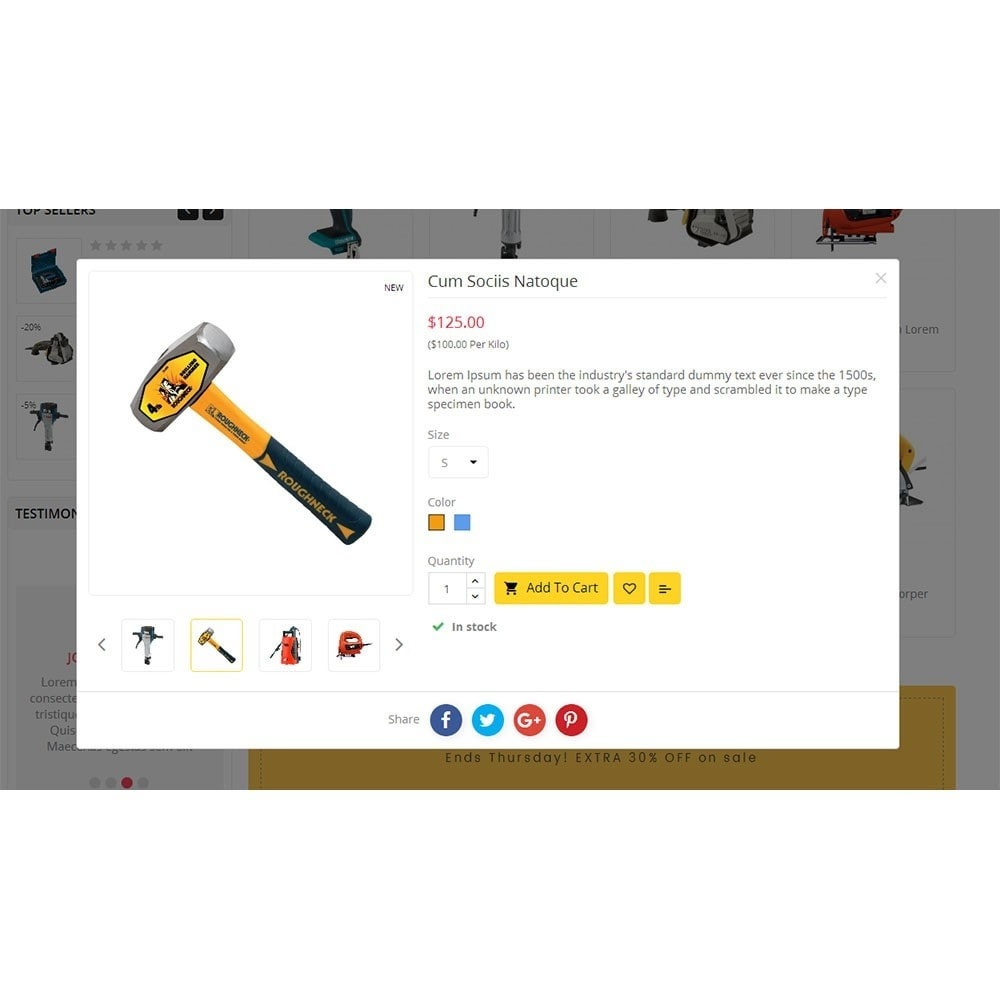 theme - Heim & Garten - Power Tools Store - 6