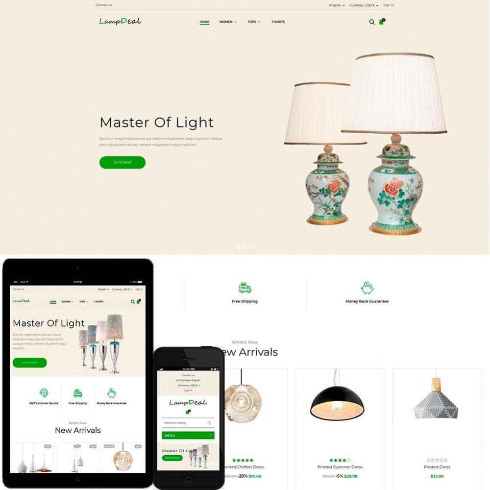 theme - Casa & Jardins - LampDeal - 1