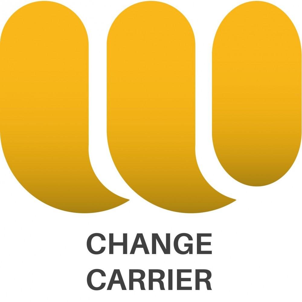 module - Edition rapide & Edition de masse - Change carrier bulk action - 1