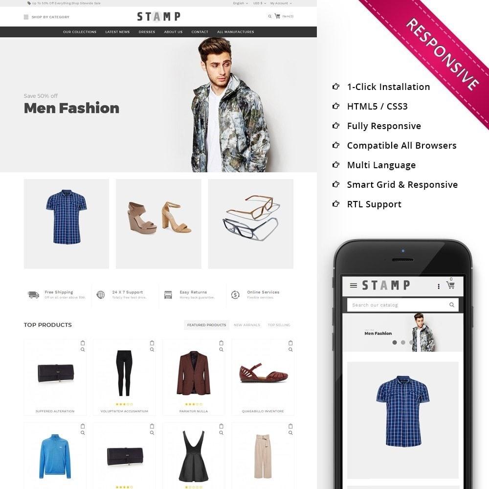 theme - Moda & Calçados - Stamp Fashion Store - 1
